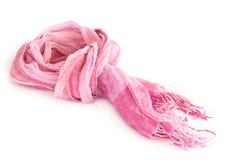 Roze sjaal Royalty-vrije Stock Foto's