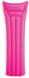 Roze slag - omhoog inflatablebed lilo Royalty-vrije Stock Foto's