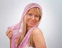 Roze Sluier Stock Afbeeldingen