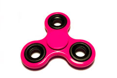 Roze spinner Stock Afbeeldingen