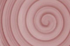Roze spiraal voor achtergrond en exemplaarruimte Stock Foto