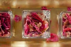 Roze Steenbolk Pourri royalty-vrije stock fotografie