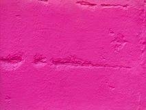 Roze steenmuur Stock Afbeelding