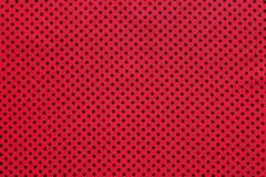 Roze stip katoenen lijstdoek stock foto