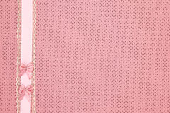 Roze stiptextiel Stock Foto's