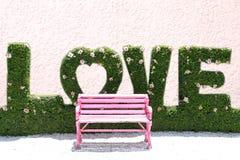 Roze stoel Royalty-vrije Stock Afbeelding