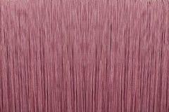 Roze stof gebreide stroken royalty-vrije stock foto's