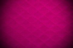 Roze stoffentextuur Stock Afbeeldingen