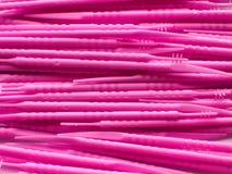 Roze stokkenachtergrond Royalty-vrije Stock Foto's