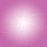 Roze stralenachtergrond Royalty-vrije Stock Foto