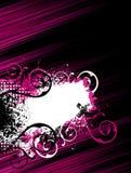 Roze streep grunge achtergrond Royalty-vrije Stock Foto's