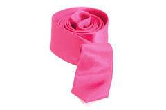 Roze stropdas Stock Afbeelding