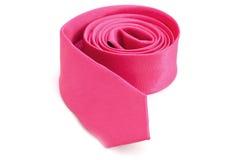 Roze stropdas Royalty-vrije Stock Afbeeldingen