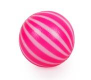 Roze stuk speelgoed bal Stock Fotografie