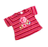 Roze t-shirt Stock Fotografie
