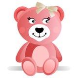 Roze Teddybeer Royalty-vrije Stock Foto