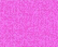 Roze tegelmuur Stock Afbeelding
