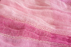 Roze textielachtergrond Stock Afbeeldingen