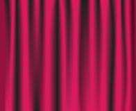 Roze theatergordijn Stock Foto's