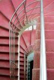 Roze Treden Stock Fotografie