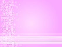 Roze Twilightabstract vector illustratie