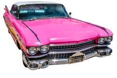 Roze uitstekende Cadillac-Eldorado Stock Afbeeldingen