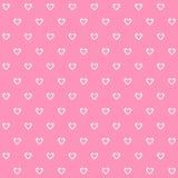 Roze vastgestelde groot van het hartbehang voor om het even welk gebruik Vector eps10 Royalty-vrije Stock Foto's
