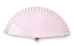 Roze ventilator Royalty-vrije Stock Foto