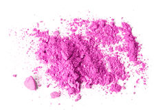 Roze verpletterde make-up royalty-vrije stock afbeelding