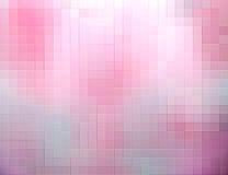 Roze vierkanten abstracte achtergrond Stock Foto's