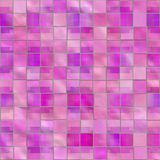 Roze violette ceramiektegel vector illustratie