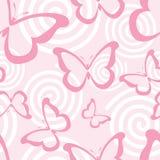 Roze vlinders vector illustratie