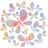 Roze Vlinders Royalty-vrije Stock Fotografie