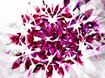 Roze voorwerp 2 royalty-vrije illustratie