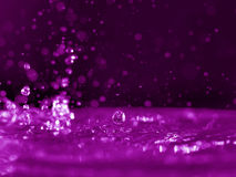 Roze watergloed Stock Foto's