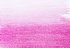 Roze waterverfachtergrond Royalty-vrije Stock Fotografie