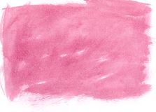 Roze waterverfachtergrond Stock Foto's
