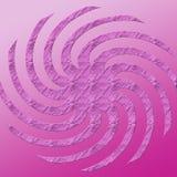 Roze werveling royalty-vrije illustratie
