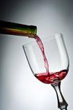 Roze wijn Stock Foto