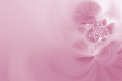 Roze zachte fractals Royalty-vrije Stock Foto