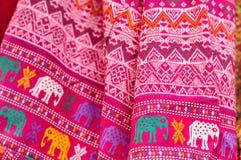 Roze zijde Royalty-vrije Stock Fotografie