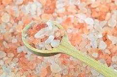 Roze zout van het Himalayagebergte Stock Fotografie