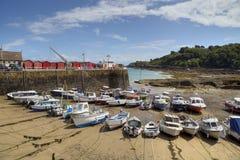 Rozel-Bucht, Jersey stockfoto