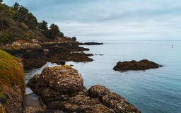 Rozel, Jersey, Kanal-Inseln lizenzfreie stockbilder