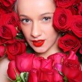 In rozen Royalty-vrije Stock Afbeelding