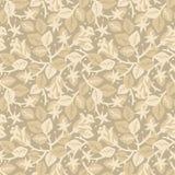 Rozen in bloei bloemen naadloos patroon Royalty-vrije Stock Afbeeldingen