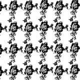 Rozen en Bladeren royalty-vrije illustratie