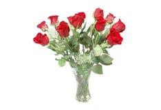 Rozen voor valentijnskaarten Stock Fotografie