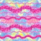 Rozen - waterverftekening Decoratieve samenstelling Naadloos patroon Abstracte achtergrond Gebruik gedrukte materialen, tekens, p royalty-vrije illustratie