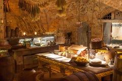 Rozengrals restaurant in Riga Royalty Free Stock Image